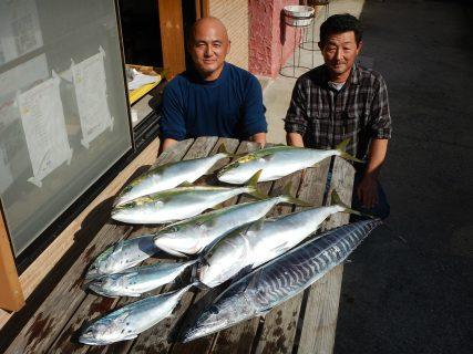 20201103 ルアー・ジギング船魚拓号