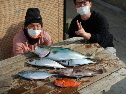 20201229 ルアー・ジギング船魚拓号