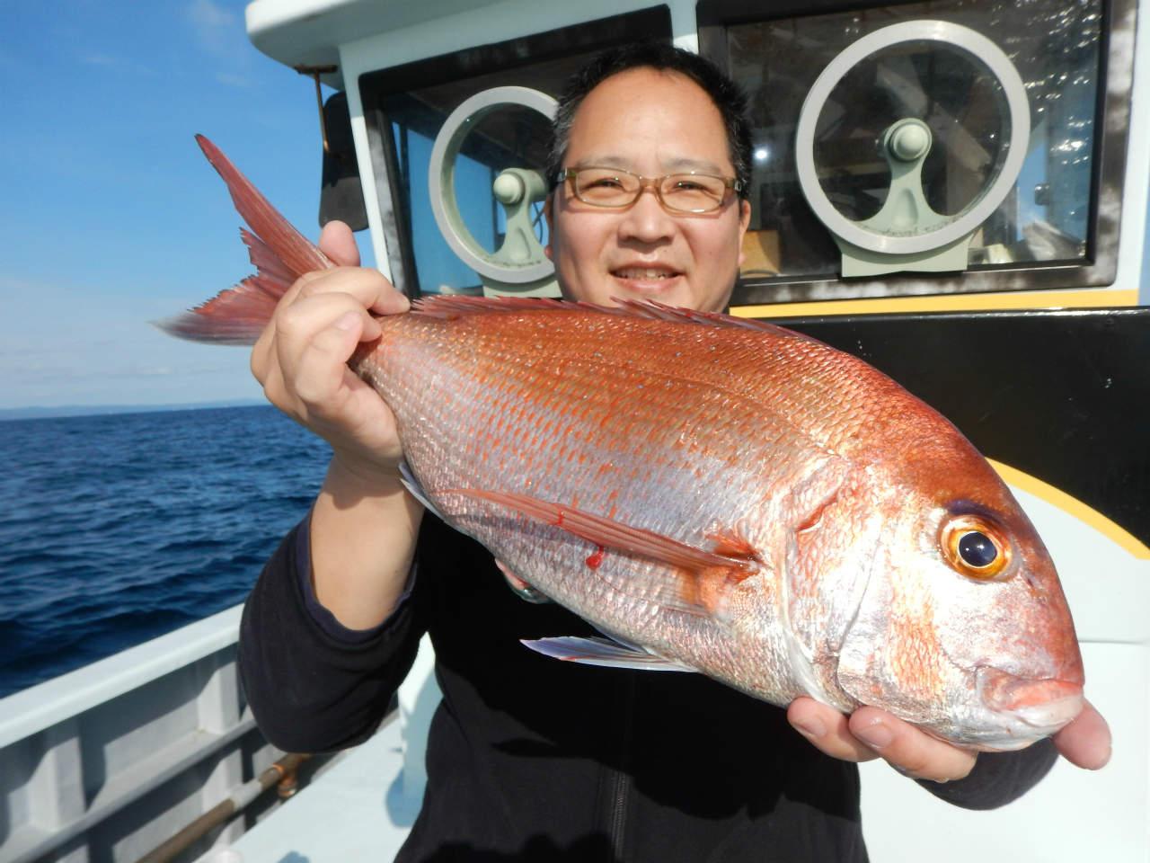 20210213 高級号縁起物 真鯛とトラフグ  セット釣り ルアージギング船魚拓号