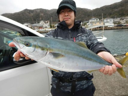 20210306 ワラサ ルアー・ジギング船魚拓号