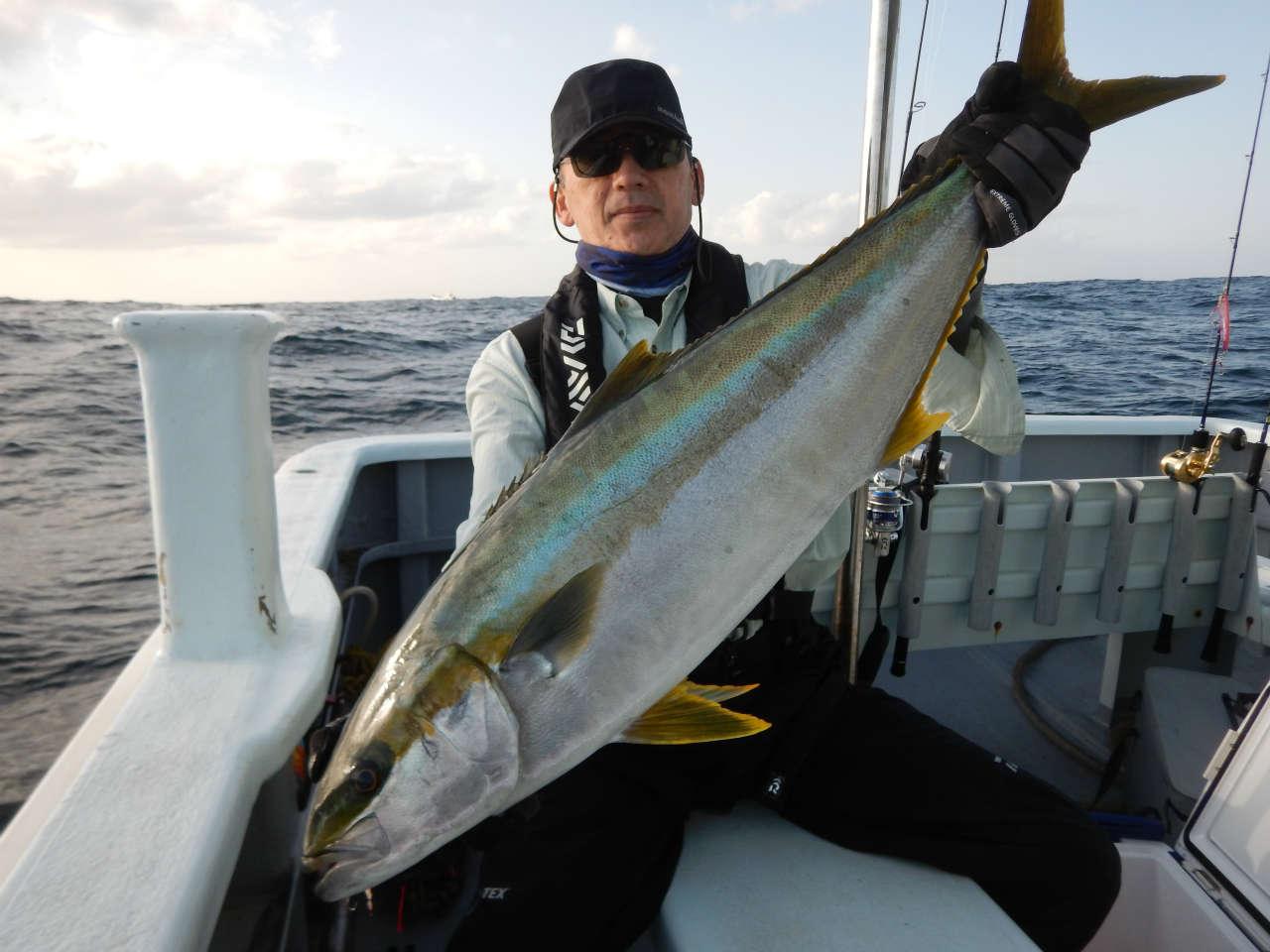20210403 久しぶりのヒラマサ5.6キロをゲット ルアー・ジギング船魚拓号 最新情報
