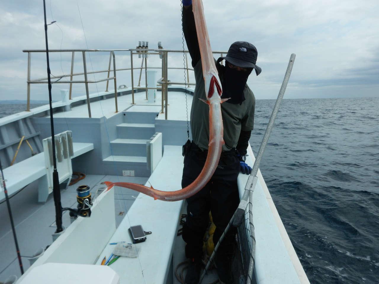 20210427 巨大ヤガラ ルアー・ジギング船魚拓号