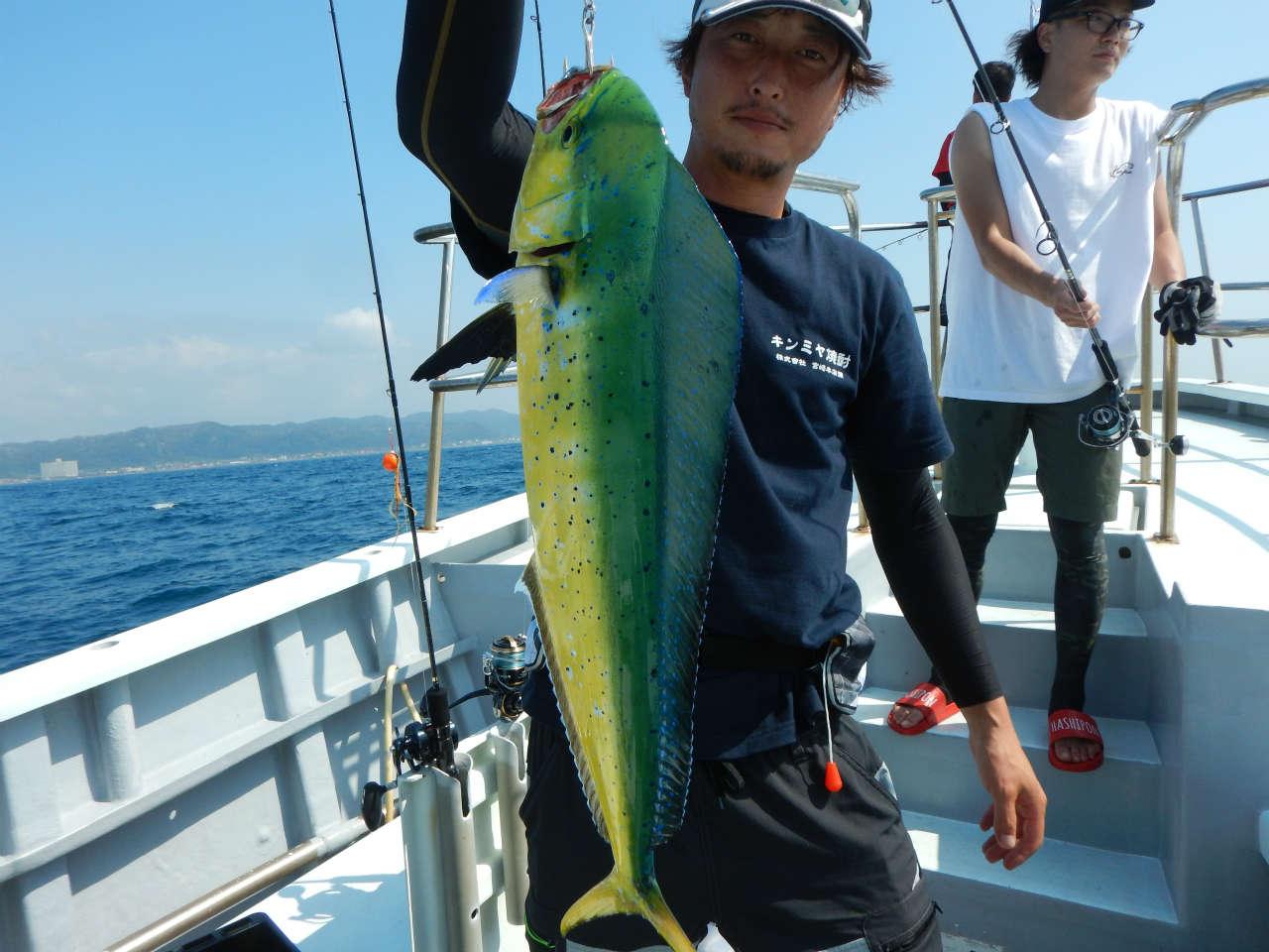 20210829 シイラ ルアー・ジギング船魚拓号