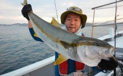 20210911 ヒラマサ7.4キロゲット ルアー・ジギング船魚拓号