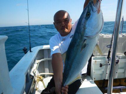 20210913 ワラサ~ ルアー・ジギング船魚拓号