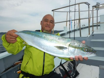20210926ワラサ ルアー・ジギング船魚拓号