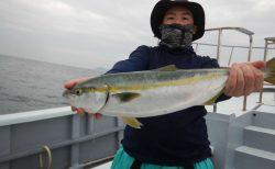 20210912ワラサ-ルアー・ジギング船魚拓号