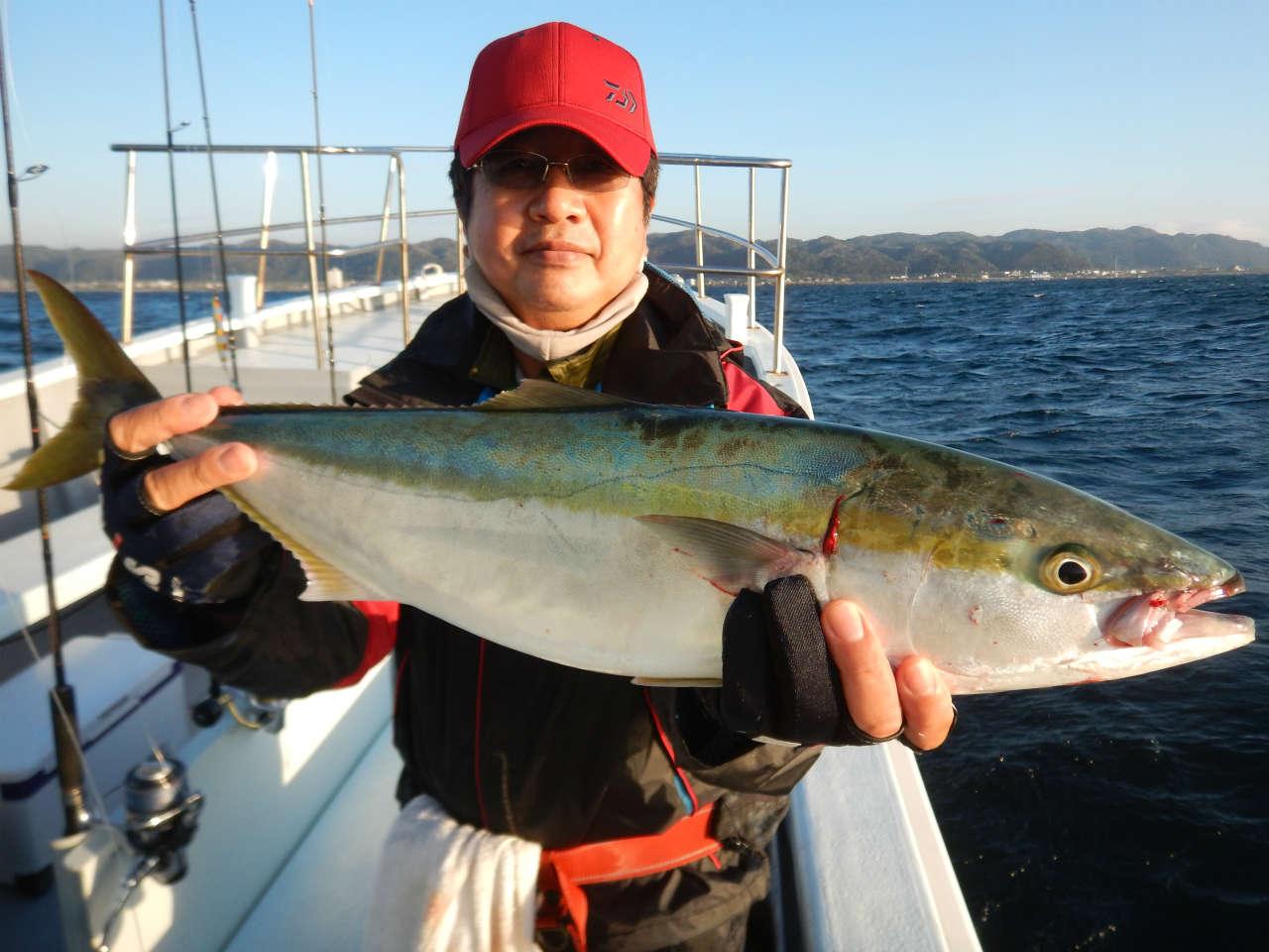 20210927 ワラサ ルアー・ジギング船魚拓号