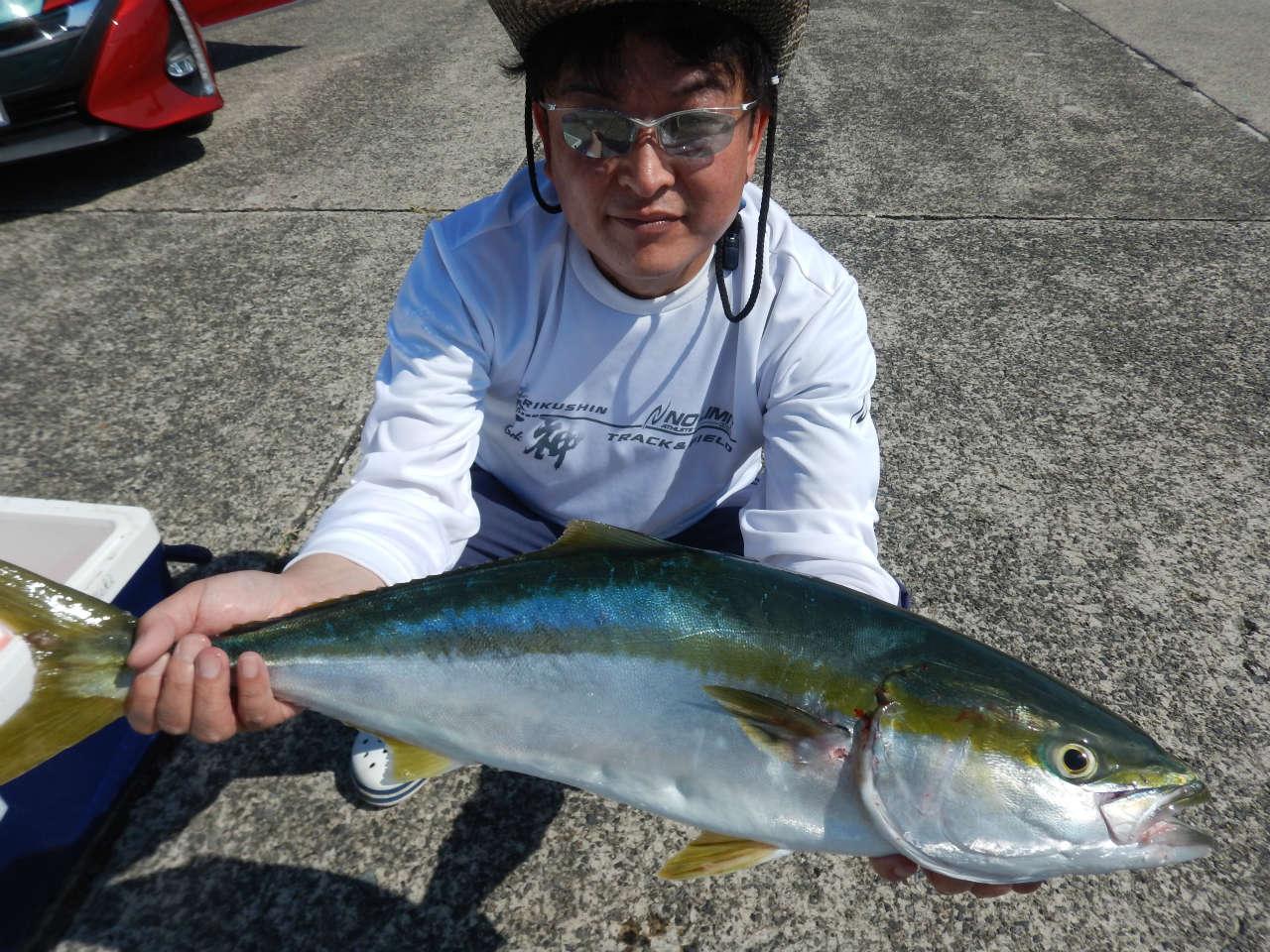 20211006 ワラサ&カンパチ ルアー・ジギング船魚拓号